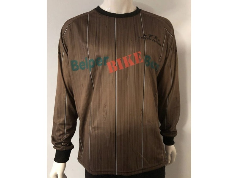 Filthy Rides Custom Clothing BBB MTB Long Sleeved Jersey (Wood) click to zoom image