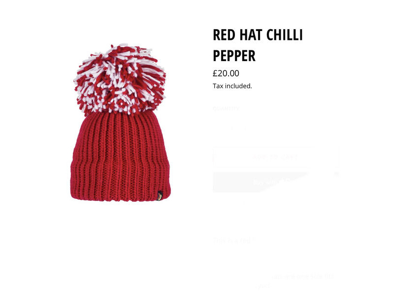 Big Bobble Hats Red Hat Chilli Pepper click to zoom image