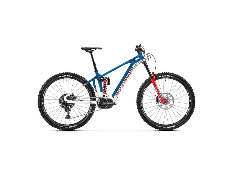 "Mondraker Level RR 29"" Bike 2020 White / Petrol / BoXXer Red click to zoom image"