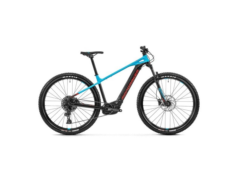 "Mondraker Prime 29"" Bike 2020 Black / Light Blue / Flame Red click to zoom image"