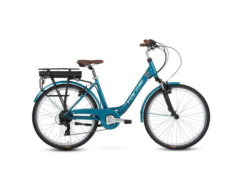 "Forme Cromford ELS Green 26"" 43cm E-Bike click to zoom image"