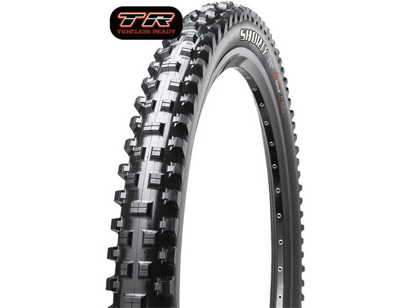 Maxxis Shorty 26x2.40 60TPI Wire 3C Maxx Grip click to zoom image