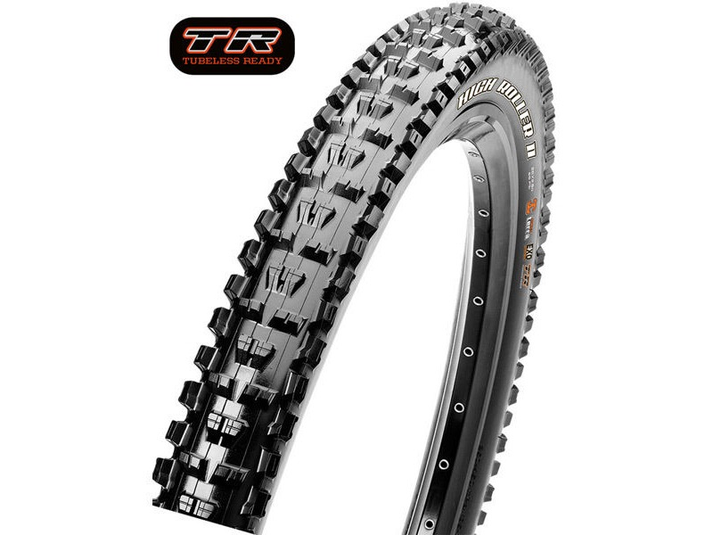 Maxxis High Roller II 26x2.40 60TPI Wire 3C Maxx Grip click to zoom image
