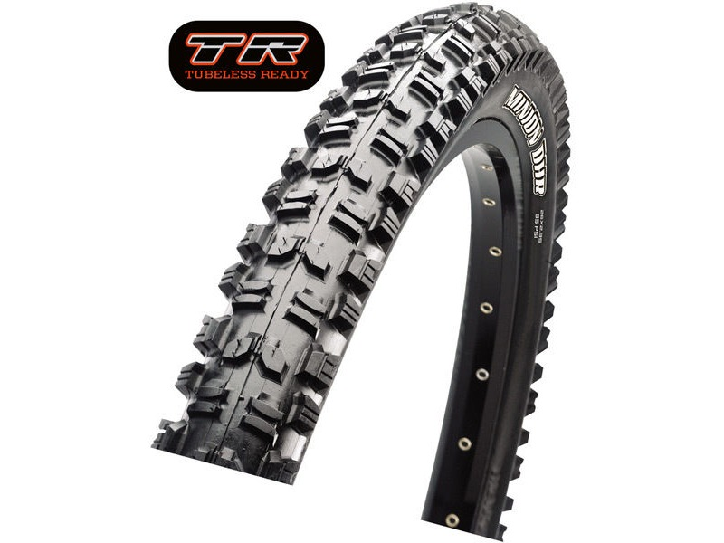 Maxxis Minion DHR II 27.5x2.30 60TPI Folding Dual Compound EXO / TR click to zoom image