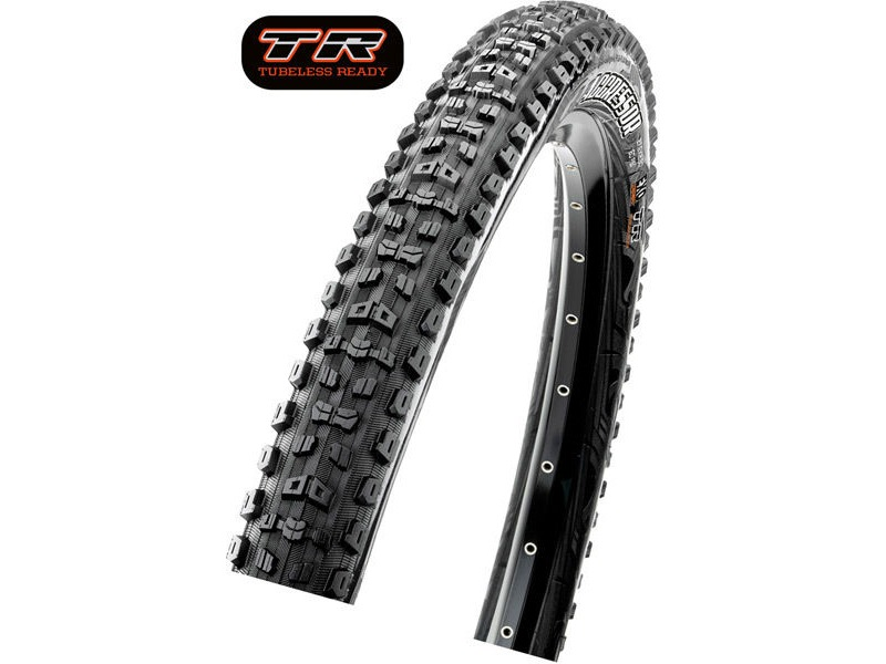 Maxxis Aggressor 29X2.30 120TPI Folding Dual Compound TR / DD click to zoom image