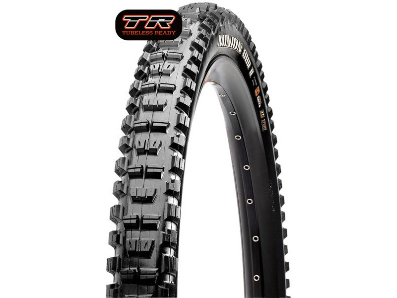 Maxxis Minion DHR II 27.5x2.8 60TPI Folding Dual Compound EXO / TR click to zoom image