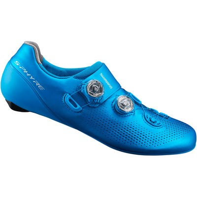 Shimano RC9 SPD-SL shoes, S-Phyre, blue