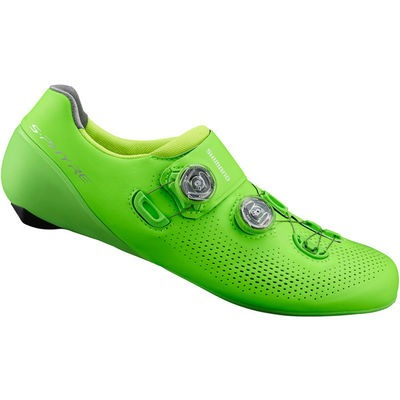 Shimano S-PHYRE RC9 (RC901) SPD-SL Shoes, Green