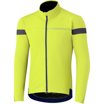 Shimano Clothing Men's - Windbreak Jersey Shimano - Neon Yellow