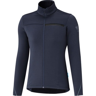Shimano Clothing Women's - Thermal Winter Jersey Shimano - Navy