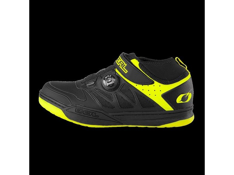 ONeal Session SPD Shoe Black/Neon Yellow click to zoom image