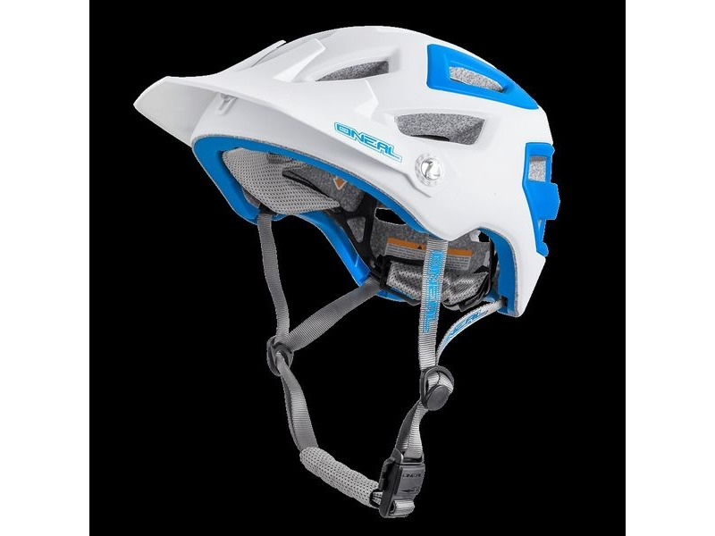 ONeal Pike MTB Helmet White/Blue click to zoom image