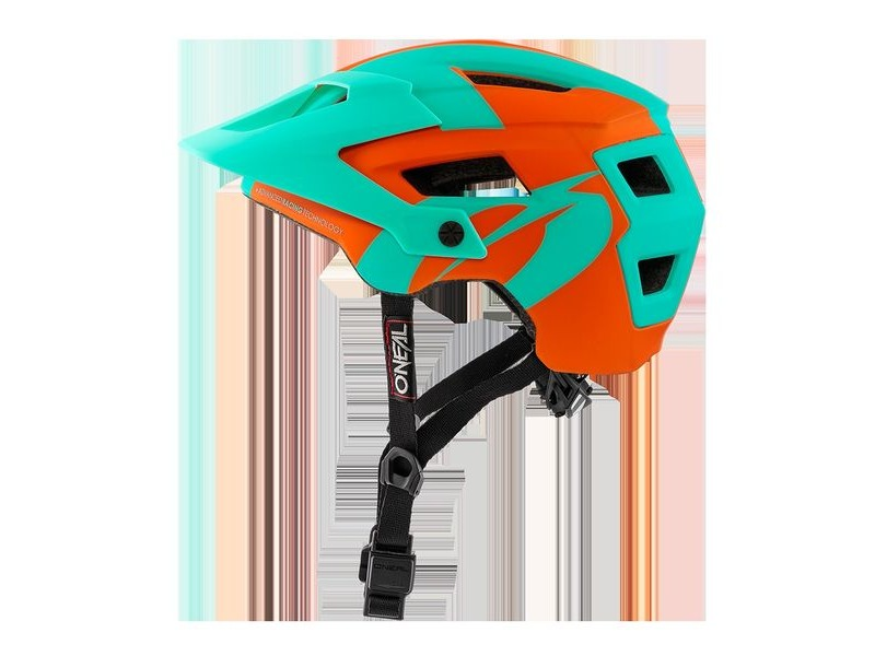 ONeal Defender 2 MTB Helmet Orange/Teal click to zoom image