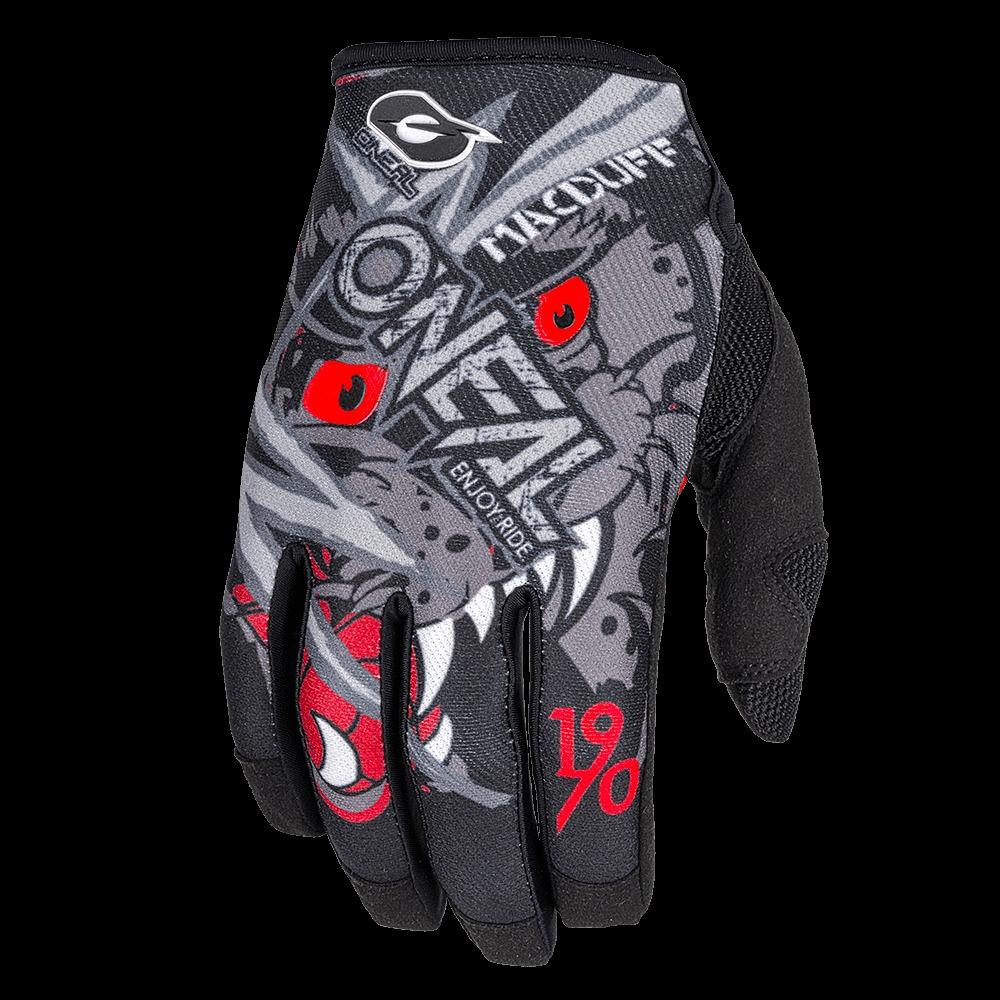 ONeal Mayhem McDuff Gloves Grey/Red