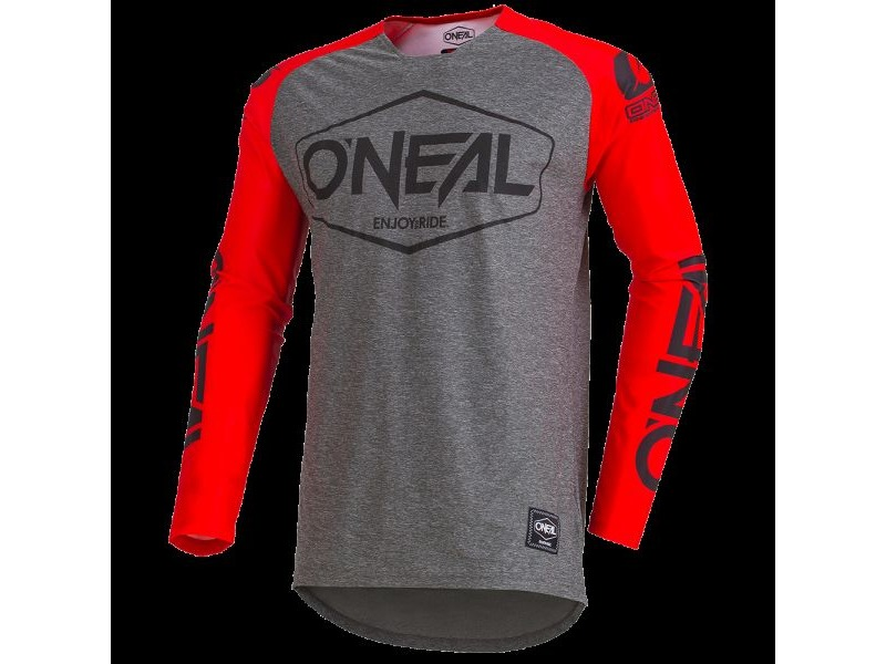 ONeal Mayhem Jersey Hexx Grey/Red click to zoom image