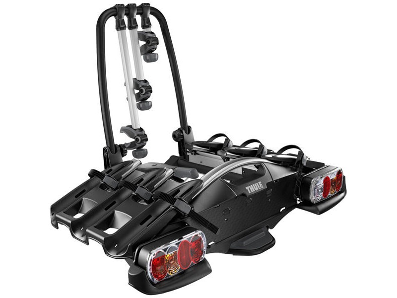 Thule 92701 VeloCompact 3-bike towball carrier 7-pin click to zoom image