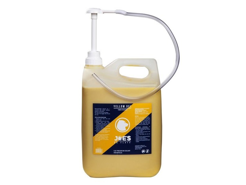 Joe's No Flats Yellow Gel Sealant 5 Litre click to zoom image