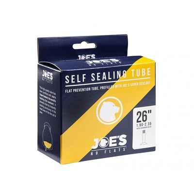 Joe's No Flats Yellow Gel Self Sealing Inner Tube 26 x 1.95-2.125 Presta