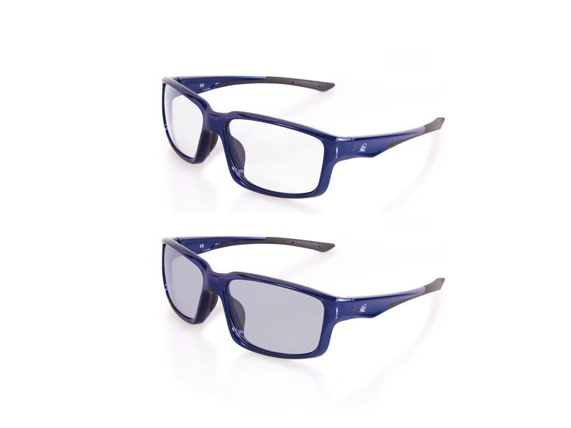 Rad8 504 MTB (Photochromic) Navy Blue Frame click to zoom image