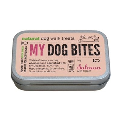 My Dog Bites Walker's Treat Tin - Salmon & Trout