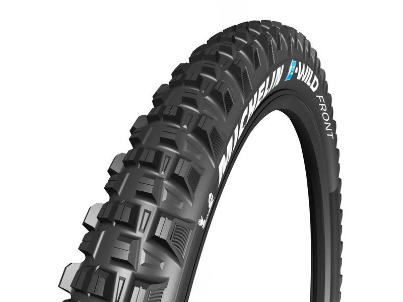 "Michelin E-Wild Tyre 27.5 x 2.80"" Black (71-584) click to zoom image"