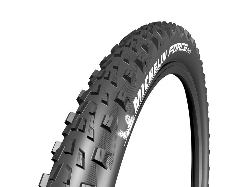 "Michelin Force AM Performance Line Tyre 27.5 x 2.60"" Black (66-584) click to zoom image"
