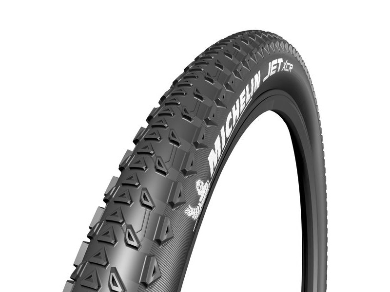 "Michelin Jet XCR Tyre 27.5 x 2.25"" Black (57-584) click to zoom image"