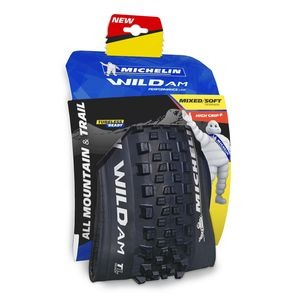 "Michelin Wild AM Performance Line Tyre 27.5 x 2.60"" Black (66-584) click to zoom image"