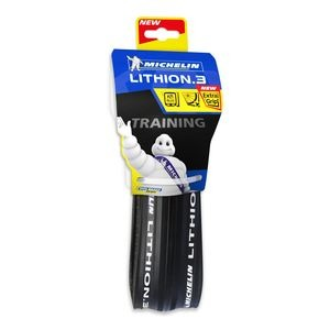 Michelin Lithion 3 Tyre 700 x 23c Black (23-622) click to zoom image