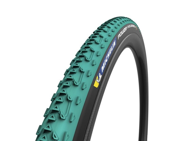 Michelin Power Cyclocross Jet Tyre Green 700 x 33c click to zoom image