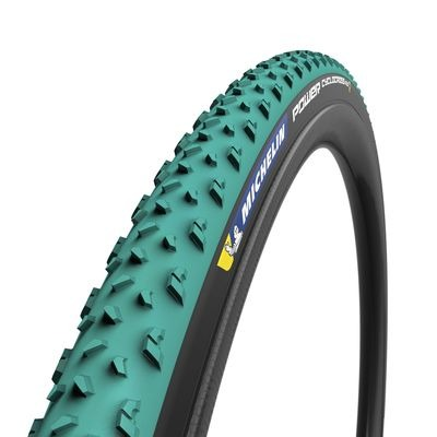 Michelin Power Cyclocross Mud Tyre Green 700 x 33c