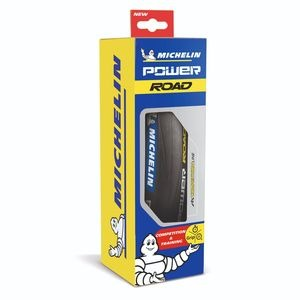 Michelin Power Road Tyre Black 700 x 23c (23-622) click to zoom image