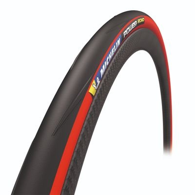 Michelin Power Road Tyre Red 700 x 25c (25-622)