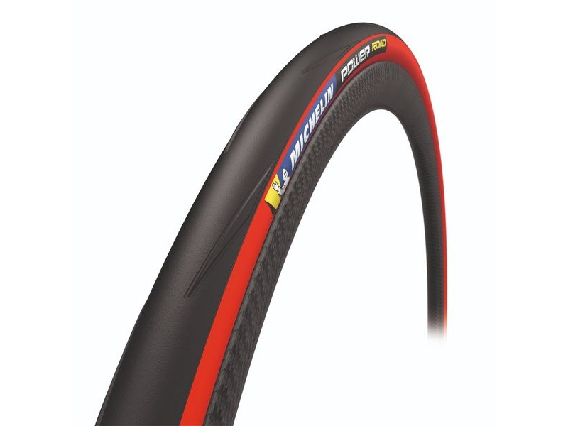 Michelin Power Road Tyre Red 700 x 25c (25-622) click to zoom image