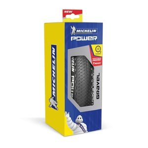 Michelin Power Gravel Tyre 700 x 33c Black (33-622) click to zoom image
