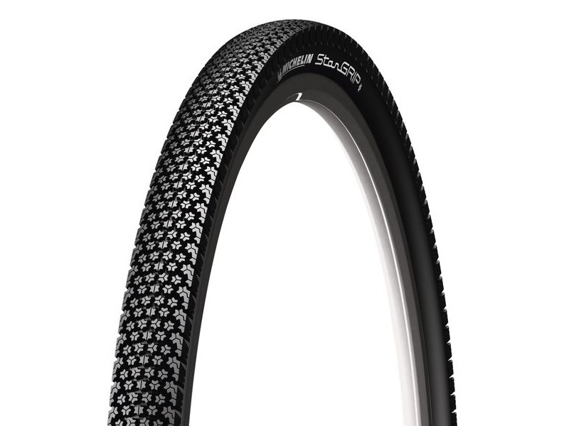 Michelin Stargrip Tyre 700 x 35c Black (37-622) click to zoom image