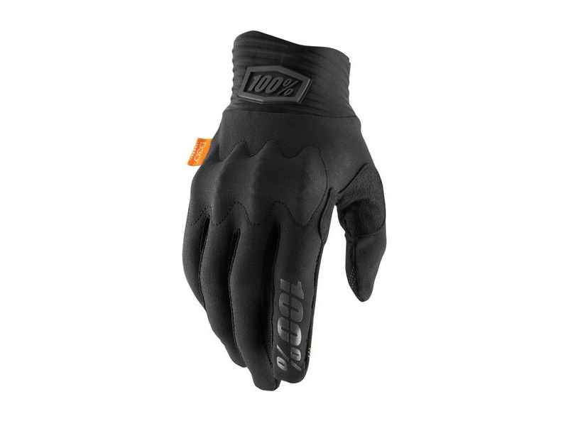 100% Cognito D30 Glove 2019 Black / Charcoal click to zoom image