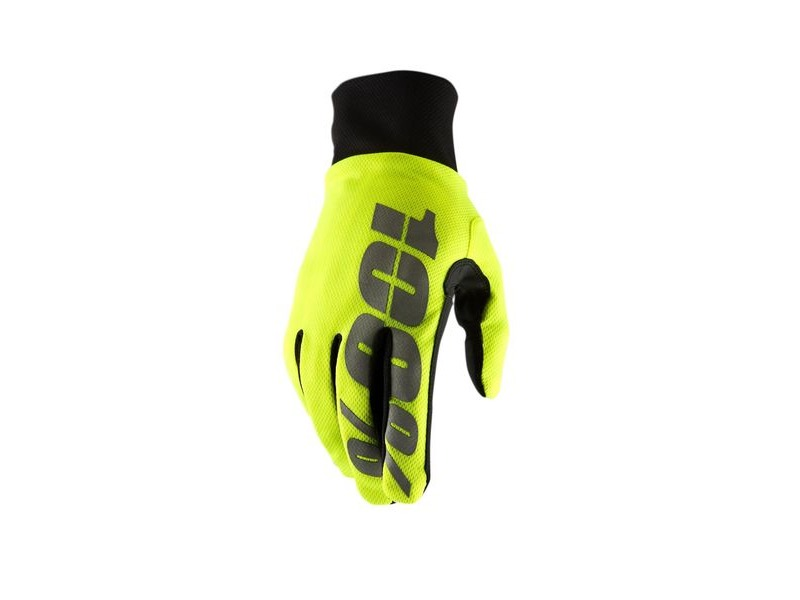 100% Hydromatic Waterproof Glove 2019 Neon Yellow S click to zoom image