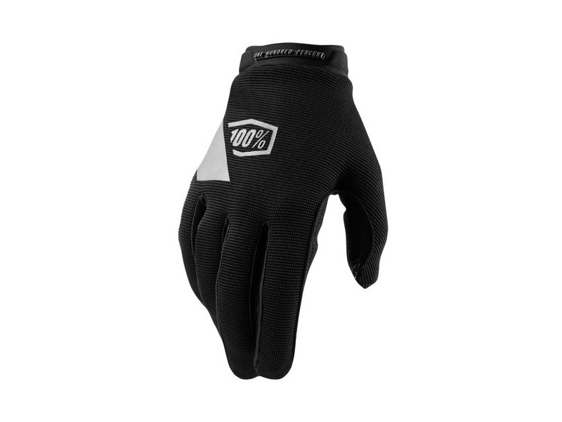 100% Ridecamp Women's Glove Black click to zoom image