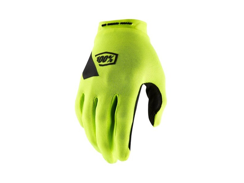 100% Ridecamp Glove Fluo Yellow click to zoom image
